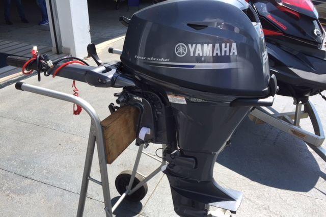 MOTOR YAMAHA 20HP 4 TEMPOS COM PARTIDA ELÉTRICA ( 2016 )