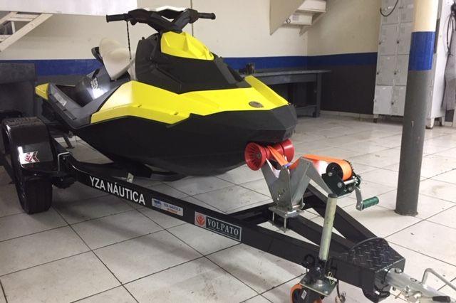JET SKI SEA DOO SPARK 90 HP ( 2014 ) COM ESCAPAMENTO ESPORTIVO