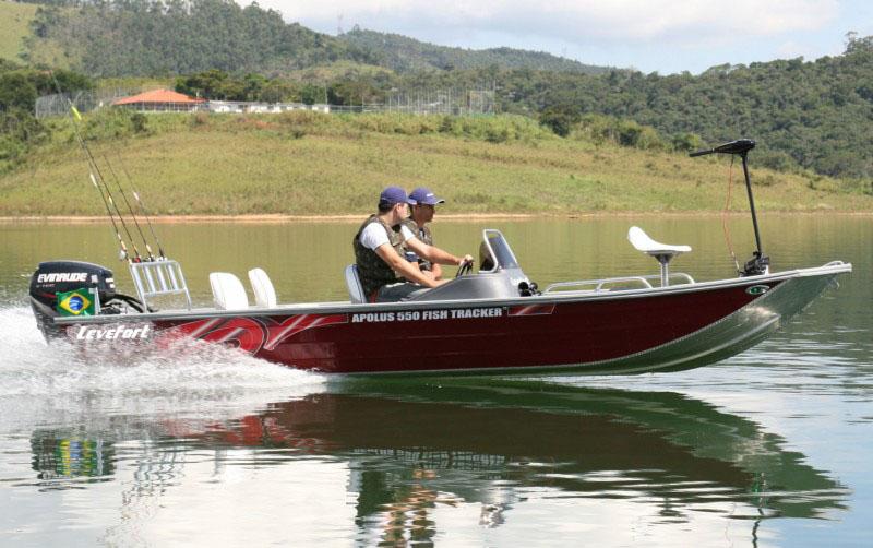 Lancha Levefort Apolus Fish Tracker