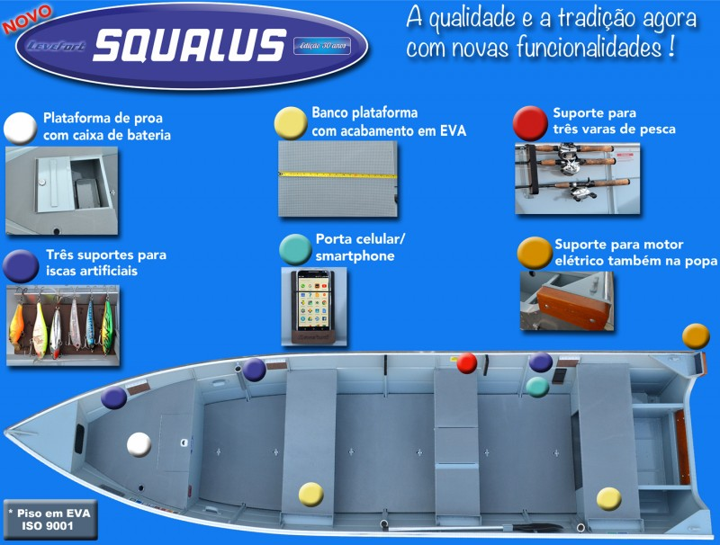 Barco Levefort SQUALUS